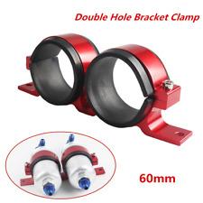 1*60mm External Double-Hole Oil Pump Cradle Holder Dual Fuel Filter Pump Bracket