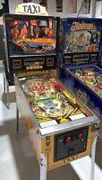 Taxi Pinball Machine Williams Coin Op Arcade