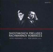 Dmitri Shostakovich : Shostakovich: Preludes/Rachmaninov: Romances CD (2014)