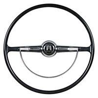 For Volkswagen Karmann Ghia 62-71 United Pacific 2-Spoke Black Steering Wheel