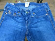 "True Religion Jeans Slightly Whisked Stella Stretch  Skinny 26 X 33"" Low Rise"