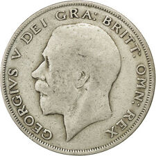 [#29154] GREAT BRITAIN, 1/2 Crown, 1921, KM #818.1a, VF(20-25), Silver, 32.3