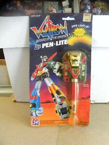Rare 1984 Toy Store Ltd. VOLTRON Defender of the Universe PEN-LITE MOC mf