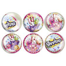 6 Shopkins Bouncy Balls Birthday Party Loot Treat Favor Bounce
