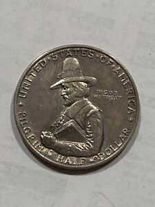 "1920 US pilgrim Tercentenary Celebration, Half Dollar ""Very Rare"" 👀s Mint"