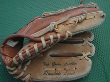 "Hutch #10 H Design youth mitt  10.5"" RHT leather baseball mitt glove"