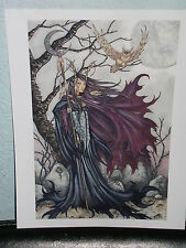 Amy Brown - Dark Elf Iii - Out Of Print - Rare