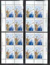 Canada #1764b XF/NH Match Set Of Plate Blocks **With Certificate**