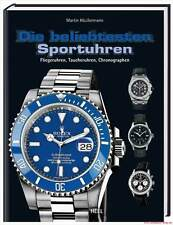 Fachbuch Die beliebtesten Sportuhren, Audemars Piguet, IWC Breitling, Rolex, NEU