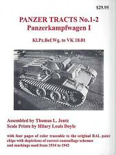 Panzer Tracts 1-2: Panzerkampfwagen I Kl.Pz.Bef.Wg to VK 18.01
