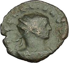 Aurelian with Roma seated 272AD Authentic Ancient Roman Coin  i40400