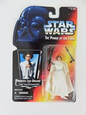 """Kenner Star Wars Princess Leia The Power of the Force 3 3/4"""" Tall Figurine 1995"""