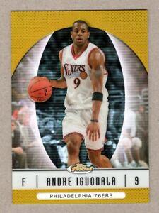 2006-07 Topps Finest Gold Refractor Andre Iguodala #28 42/50