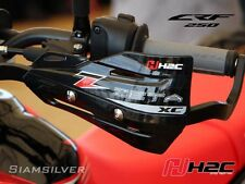 HONDA GENUINE H2C CRF 250 M L RL RALLY HAND GUARD  COVER LEVERS GRIP 2012 - 2017