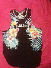 COOL PARADISE FITTED TANK TOP BNWT SZ L