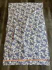 """1950's Fabric """"Blue Willow"""" Style Novelty print 2.77 yards"""