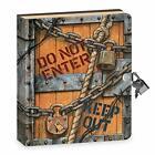 Diary With Lock Key Blank Notebook Boy Locking Journal Kids Password Secret Book