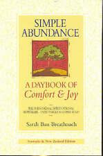 Simple Abundance by Sarah Ban Breathnach - Paperback - 2005 - As New