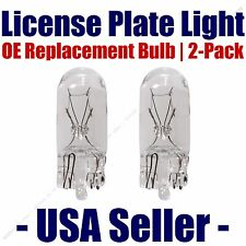 License Plate Bulb 2pk OE Replacement Fits - Listed Toyota Vehicles - 168