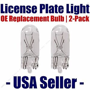 License Plate Bulb 2pk OE Replacement Fits - Listed Asuna Vehicles - 168