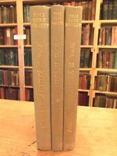 Sutta Nipata Commentary Paramatthajotika II, Pali Text Society 3 Volume Set