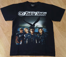 TOKIO Hotel tedesca Rock Band T Shirt Tee Top AVANTGARDE Nero Taglia M