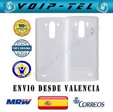 ORIGINAL TAPA BATERIA CARCASA TRASERA LG G3 D855 CON ANTENA NFC BLANCO BLANCA