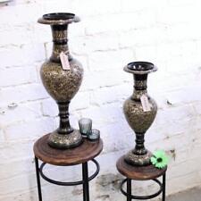 Floreros decorativos sin marca de metal para el hogar
