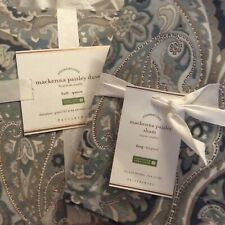 Brand New Pottery Barn Mackenna Duvet Cover w/ Shams * FULL-QUEEN* Blue