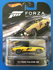 2016 Hot Wheels Retro Entertainment FORZA MOTORSPORT '73 FORD FALCON XB mint!