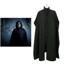 Harry Potter Costume Severus Snape Cosplay Professor Fancy Dress Halloween Suit