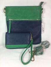 Charming Charlie Carolyn Colorblock Crossbody & Matching Wallet