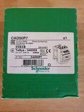 Contacteur auxiliaire telemecanique CAD50P7