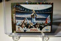 DIEGO MARADONA ARGENTINA LEGEND 1986 WORLD CUP - PANINI WORLD CUP 2018 #676