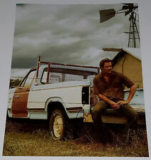 CHRIS PINE In-Person Signed 11x14 Hell or High Water Toby Howard Photo w/COA