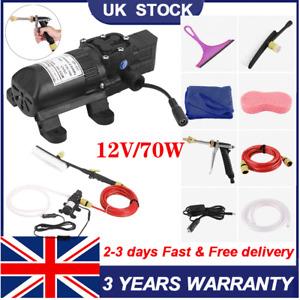 Car Washer Water Gun Pump DC 12V High Pressure Portable Washing Machine Electric