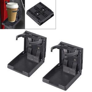 2X Adjustable Folding Drink Cup Holder For Car Truck Boat Marine Caravan RV