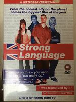Ricci Harnett Kelly Marcel STRONG LANGUAGE ~ 2000 British Crime Drama | UK DVD
