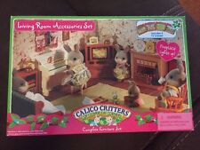 Calico Critters Living Room Accessories Set Over 20 Accessories CC2564 NIB