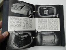 1949 PHILCO Radio Record Player Refrigerator Salesman Pocket Reference Catalog