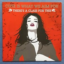 Cute Is What We Aim For - There's A Class For This - CD Promo - (CBX342)