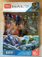 Mega Construx HALO Spartan-IV Team Battle Pro Builders 107 Pcs Brand New