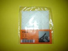 IKEA Fixa Stick On Felt Floor Protector Pads Wooden Laminate Tile Pack of 20 NEW