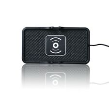 Qi Wireless Car Charger Over 80% Transfer efficency For Samsung Anti-slip Pad