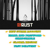 RUST - New Steam Account - Global Region - Fast Delivery