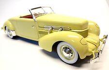 1937 Cord Model 812 Sportsman 1:18th scale diecast Ertl Co. Auburn E.L Cord Co
