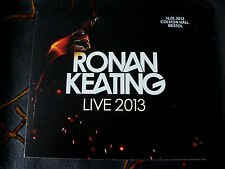 Slip Double: Ronan Keating : Live 2013 : Colston Hall Bristol 2 CDs