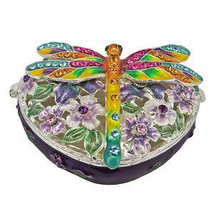 RUCINNI Dragonfly Trinket Box