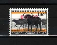 Belgisch Congo Belge Rep. Congo n° 405a MNH Reversed Overprint Animals c15.00Eu