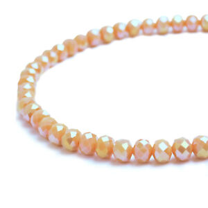 Rondelle Faceted Crystal Glass Loose Spacer Beads 2mm 4mm 6mm 8mm 10mm wholesale